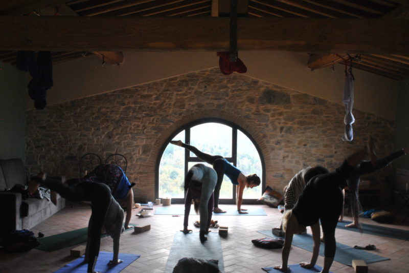 Fattoria Ticcia YOGA COLLECTION
